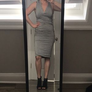 NWOT Mustard Seed Ruched Dress